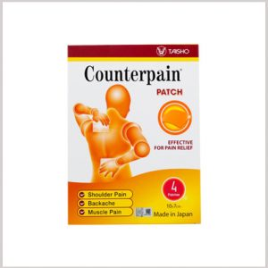 Counterpain Patch (4 x 1's)